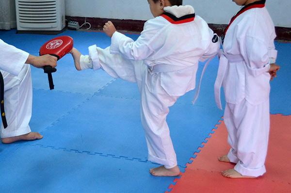 Zajęcia sportowe Taekwon Do